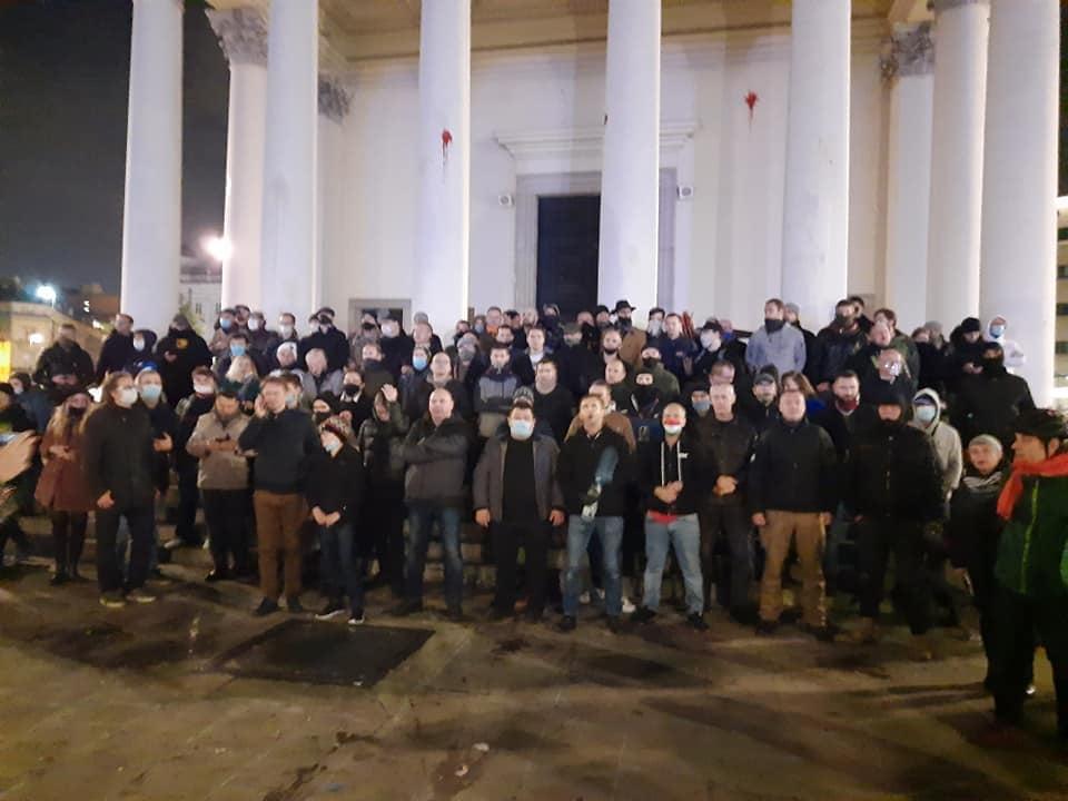 Захисники храму св. Олександра