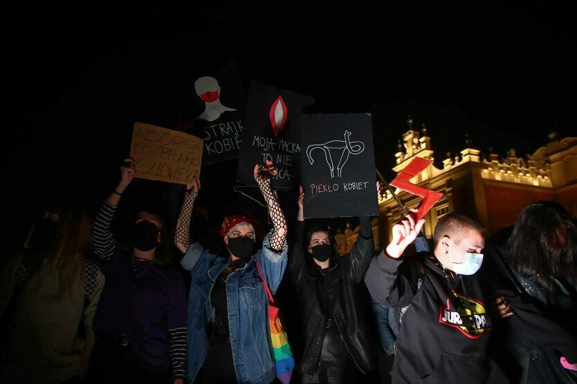 Польща: протести прихильників абортів
