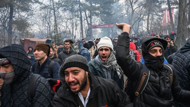 мігранти в Греції