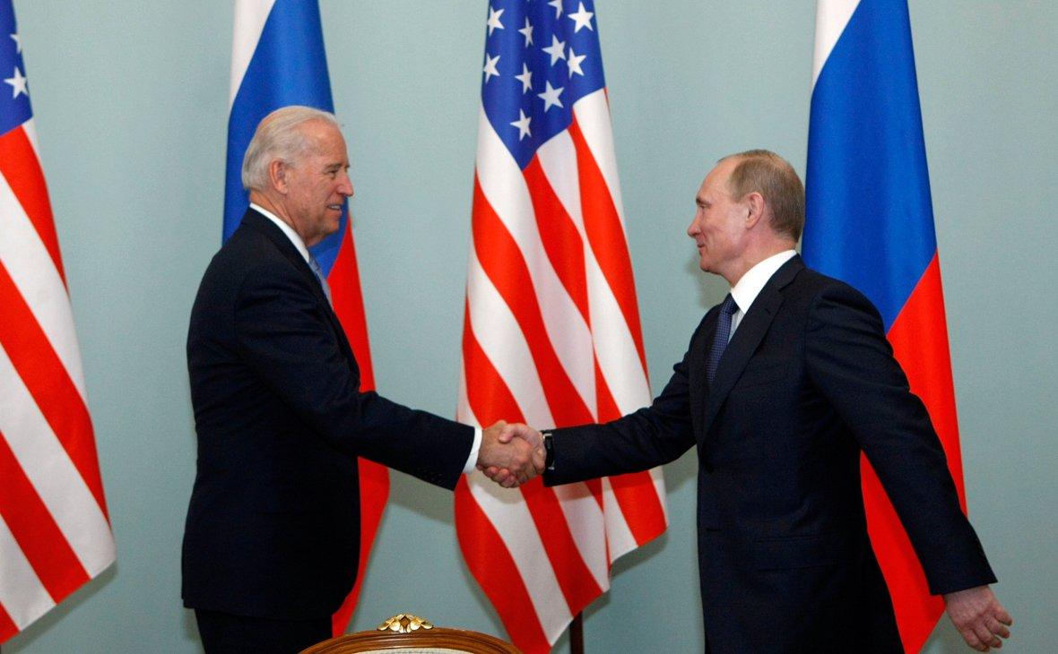 Байден і Путін