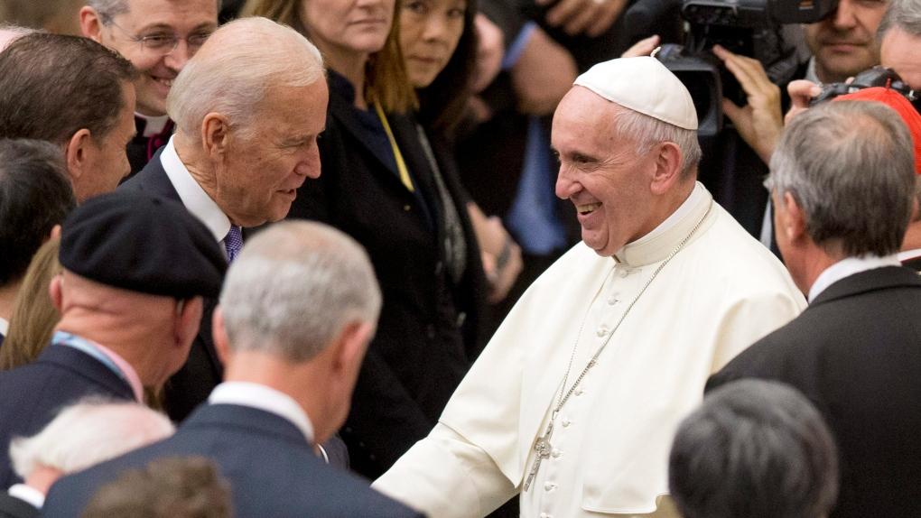 Франциск і Байден